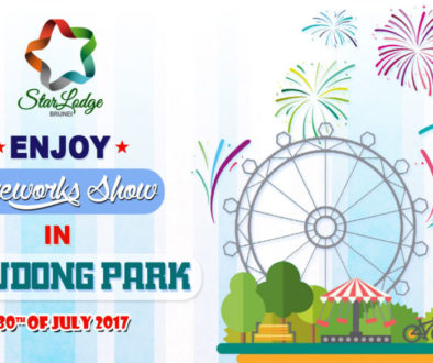 Stay With Us & Enjoy The Fireworks Display in Jerudong Park